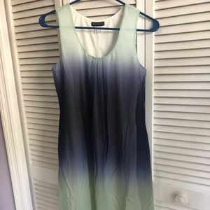 Color change shift dress